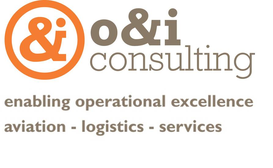 o&i consulting logo and strapline